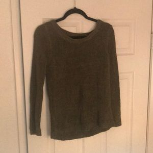 H&M light weight army green sweater